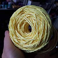 Рафия соломка для вязания шляп и сумок цвет ваниль, фото 1