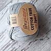 Пряжа Cotton True Sport хлопок светло-серый