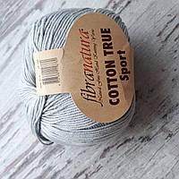 Пряжа Cotton True Sport хлопок светло-серый, фото 1