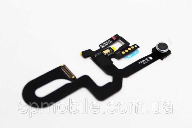 Шлейф для Apple iPhone 7 Plus на спикер, c лицевой камерой и микрофоном