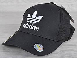 """Кепка мужская """"Adidas"""". Размер 57-59 см. Черная. Оптом и в розницу."""