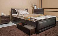 Кровать односпальная Марго с ящиками