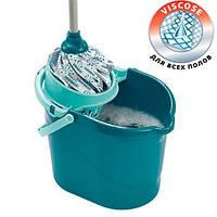 Набор для уборки LEIFHEIT CLASSIC MOP / Швабра, ведро / Набор для мытья полов