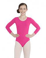 Дитячий купальник для гімнастики( бавовна ) Рожевий