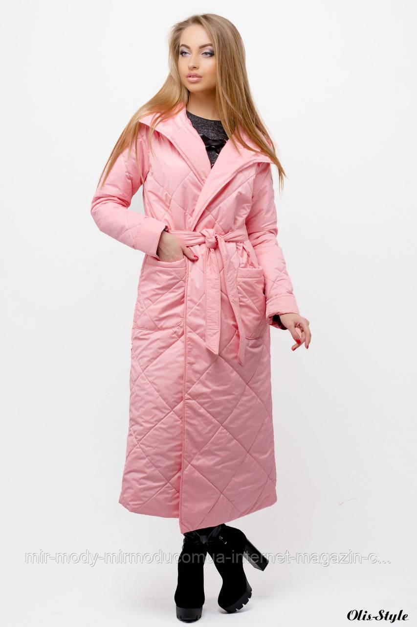 ВЕСЕННИЙ ПЛАЩ СОПРАНО (розовый) с 44 по 54 размер (olst)