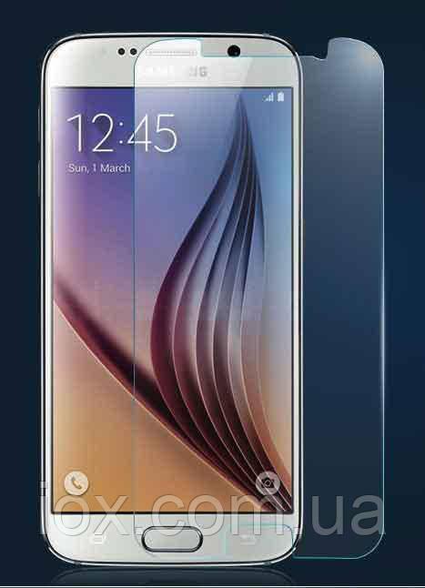 Противоударное защитное стекло на дисплей для Samsung S6