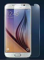 Противоударное защитное стекло на дисплей для Samsung S6 , фото 1