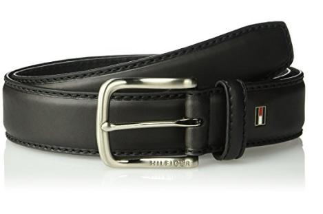 Ремень Tommy Hilfiger Men's - Black (джинсы W34)