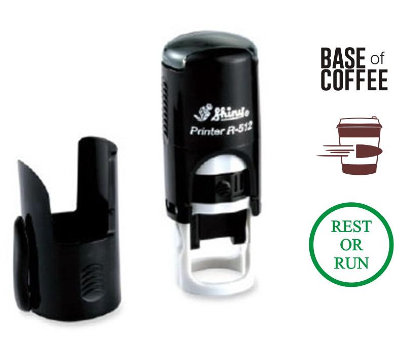 Штамп R12 штамп для кофейни