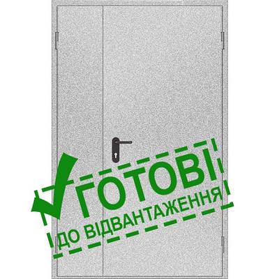 Двери противопожарные металлические глухие ДМП ЕІ30-2-2100х1200, ЕвроСтандарт (000015857)