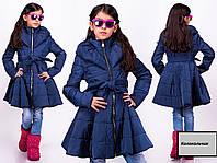 Весенние куртки и плащи детские для девочек стильные