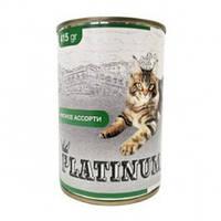 PLATINUM CAT Консерва 415 г Meat мясной