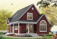 Построить жилой дом для проживания Зимой и Летом.