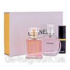 Женский подарочный набор Chanel (3 в 1)