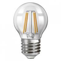 Лампа Led филаментная ECOLUX 4W  4200K E-27  EX4F