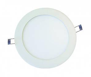 Светодиодный светильник _DELUX_CFR LED 10 _4100К 6Вт 220В круг