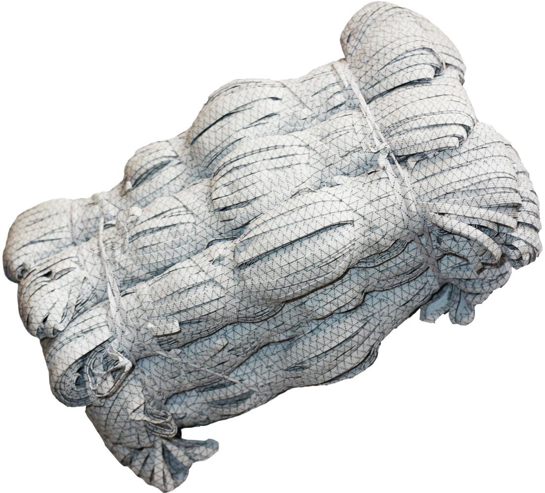 Резинки бельевые (100m) прошитые, тесьма эластичная полиэстер
