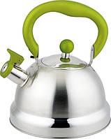 Чайник Con Brio 2,7 л.СВ411 зеленый/капсульн.дно Индукция