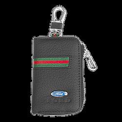 Ключница Carss с логотипом FORD 03012 многофункциональная черная