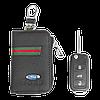 Ключница Carss с логотипом FORD 03012 многофункциональная черная, фото 3