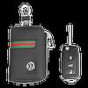 Ключница Carss с логотипом VOLKSWAGEN 04012 многофункциональная черная, фото 5