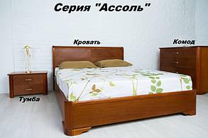 Тумба Ассоль орех светлый (Микс-Мебель TM), фото 3