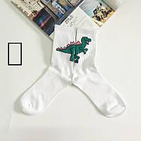 Носки Totoro - высокие - Дракон - белые