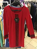 Красное платье Philipp Plein