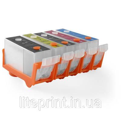 Дозаправляемые картриджи DZK5-C525/526 для iP4840 / iP4940 / MG5140 / MG5240 / MG5340 / MX880 / MX884