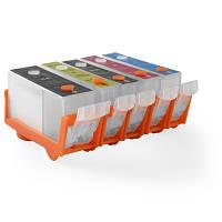 Дозаправляемые картриджи DZK5-C520 для iP4840 / iP4940 / MG5140 / MG5240 / MG5340 / MX880 / MX884
