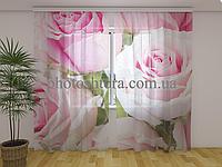ФотоТюль Королевские розы 250 см х 260 см