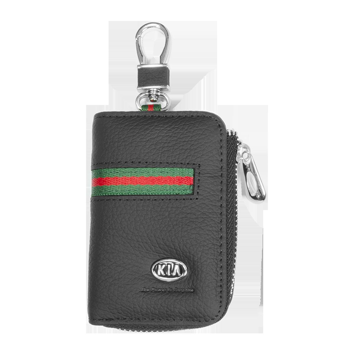 Ключница Carss с логотипом KIA 05012 многофункциональная черная