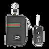 Ключница Carss с логотипом KIA 05012 многофункциональная черная, фото 5