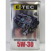 Моторное масло E-TEC TEC 5W30 ( канистра 4 л)