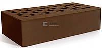 Кирпич керамический одинарный коричневый Евротон