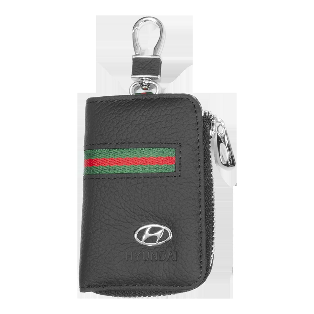 Ключниця Carss з логотипом HYUNDAI 10012 багатофункціональна чорна