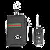 Ключница Carss с логотипом HYUNDAI 10012 многофункциональная черная, фото 5