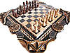 Шахматы нарды резные
