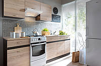 Кухня модульная Junona Line 240 дуб сонома