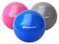 Мяч для фитнеса гимнастический «Hop-Sport» (фитбол) 65см + насос