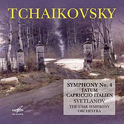 CD-диск Петро Ілліч Чайковський - Симфонія № 4, Фатум, ІТАЛІЙСЬКЕ КАПРИЧІО