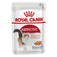 Royal Canin INSTINCTIVE (пашет) консервированный корм для кошек старше 1 года, 12 шт*85 гр