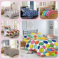 Семейные комплекты постельного белья из сатина в ассортименте 1
