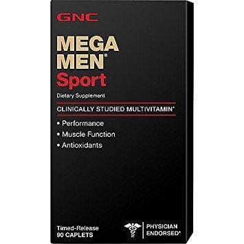 GNC Mega Men Sport 90 caps