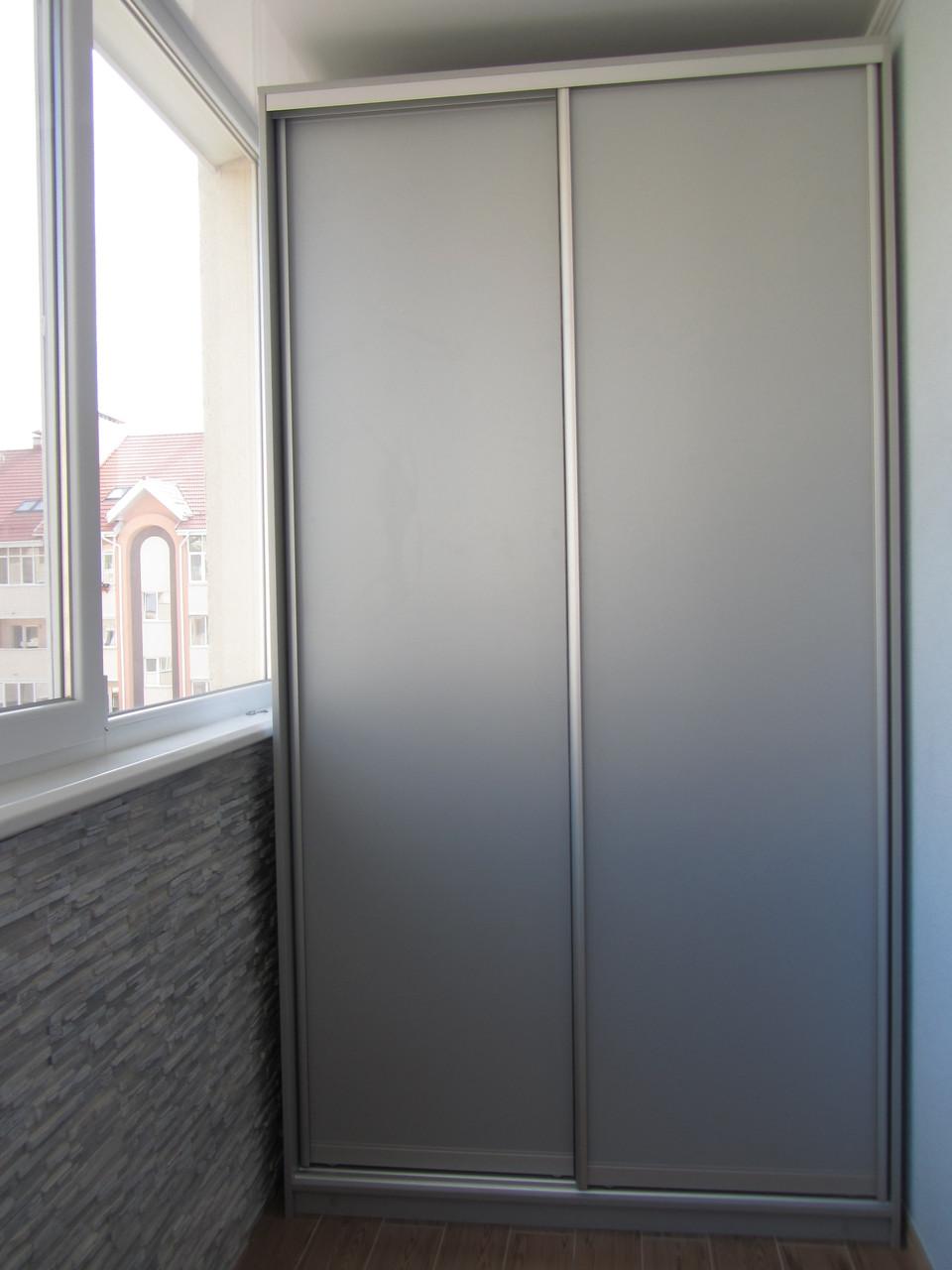 Шкаф купе на заказ на балкон Z-126