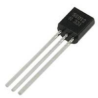 Транзистор биполярный SS9012 PNP 20V 500mA TO-92