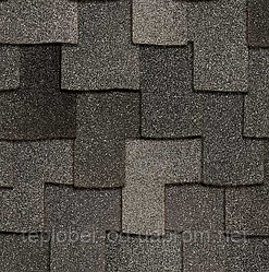 Бітумна черепиця WOODCREST® AR Granite (1,55 м.кв./уп.)