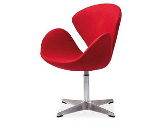 Кресло красное DEVON