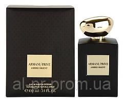 Парфюмированная вода Giorgio Armani Armani Prive Ambre Orient