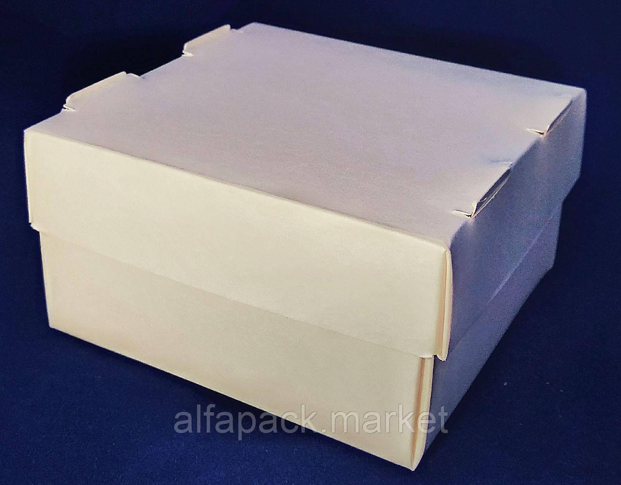 Упаковка картонна для суші 100*100*55